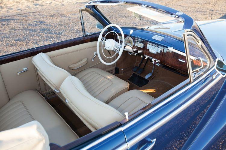 BMW 502 Cabriolet cars classic convertible 1955 interior wallpaper