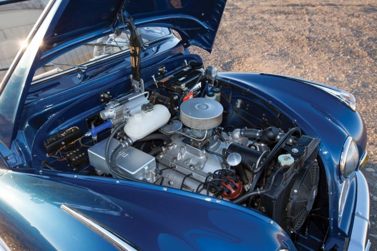 BMW 502 Cabriolet cars classic convertible 1955 engine wallpaper