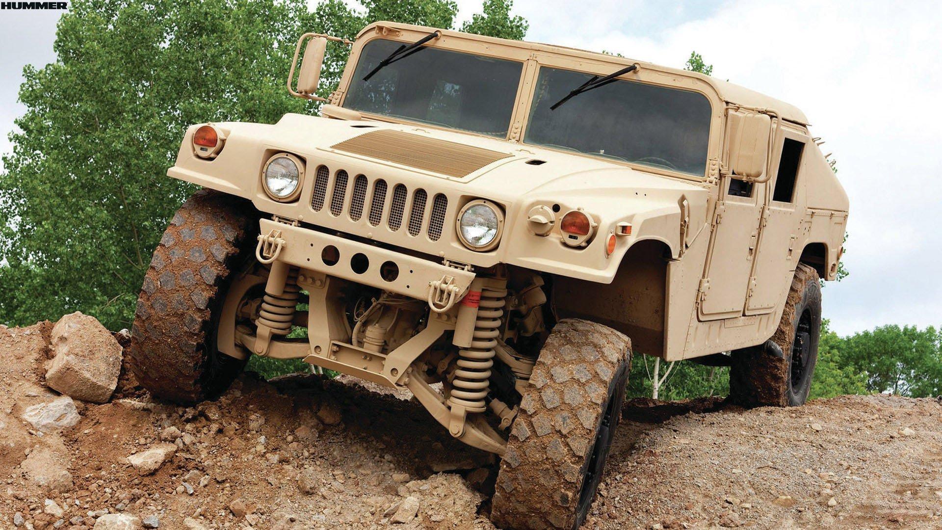 Desert Camo Military Hummer H1 Wallpaper Wallpaper