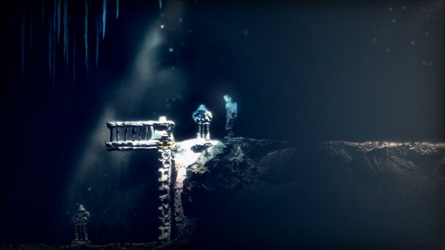 SWAPPER sci-fi puzzle platform scrolling space astronaut 1swap exploration adventure wallpaper