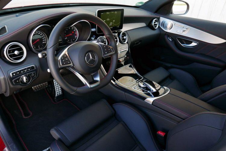2016 Mercedes Benz C450 AMG Sport cars sedan interior wallpaper