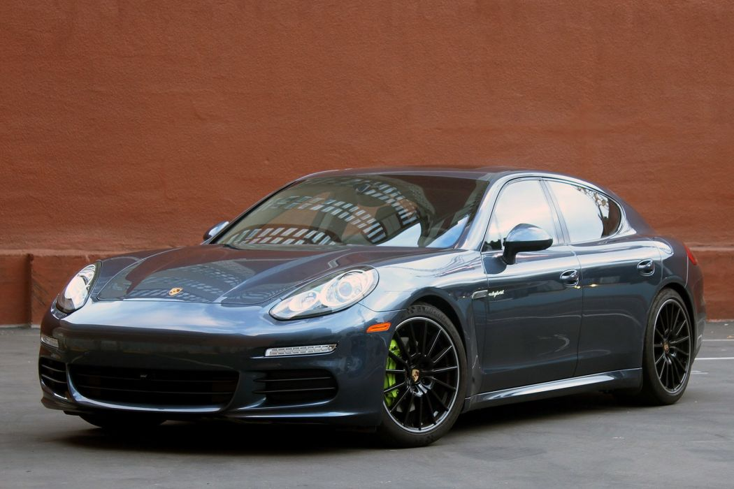 2015 Porsche Panamera-S E-Hybrid cars electric wallpaper