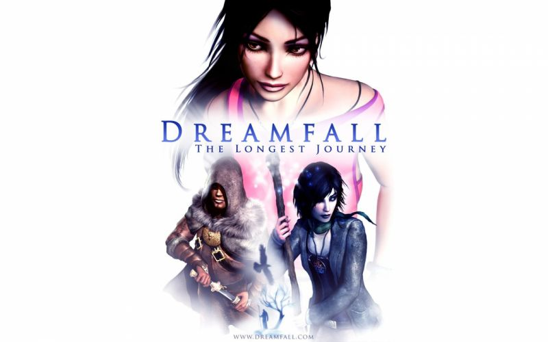 DREAMFALL series adventure cyberpunk fantasy sci-fi 1dchap fighting action poster wallpaper