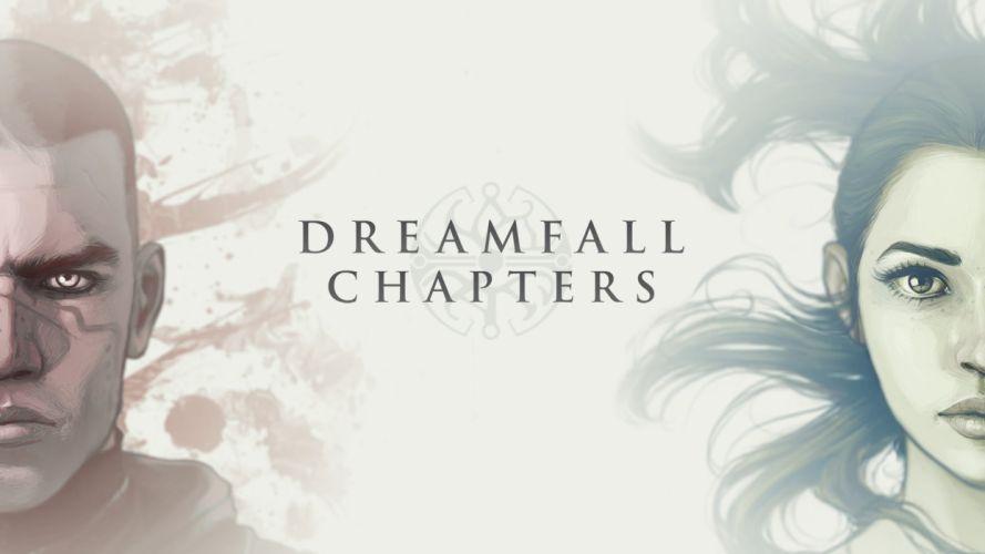 DREAMFALL series adventure cyberpunk fantasy sci-fi 1dchap fighting action poster wallpaper