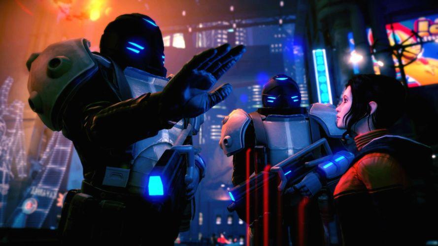 DREAMFALL series adventure cyberpunk fantasy sci-fi 1dchap fighting action wallpaper