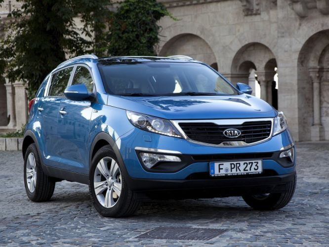 Kia Sportage suv cars 2011 wallpaper