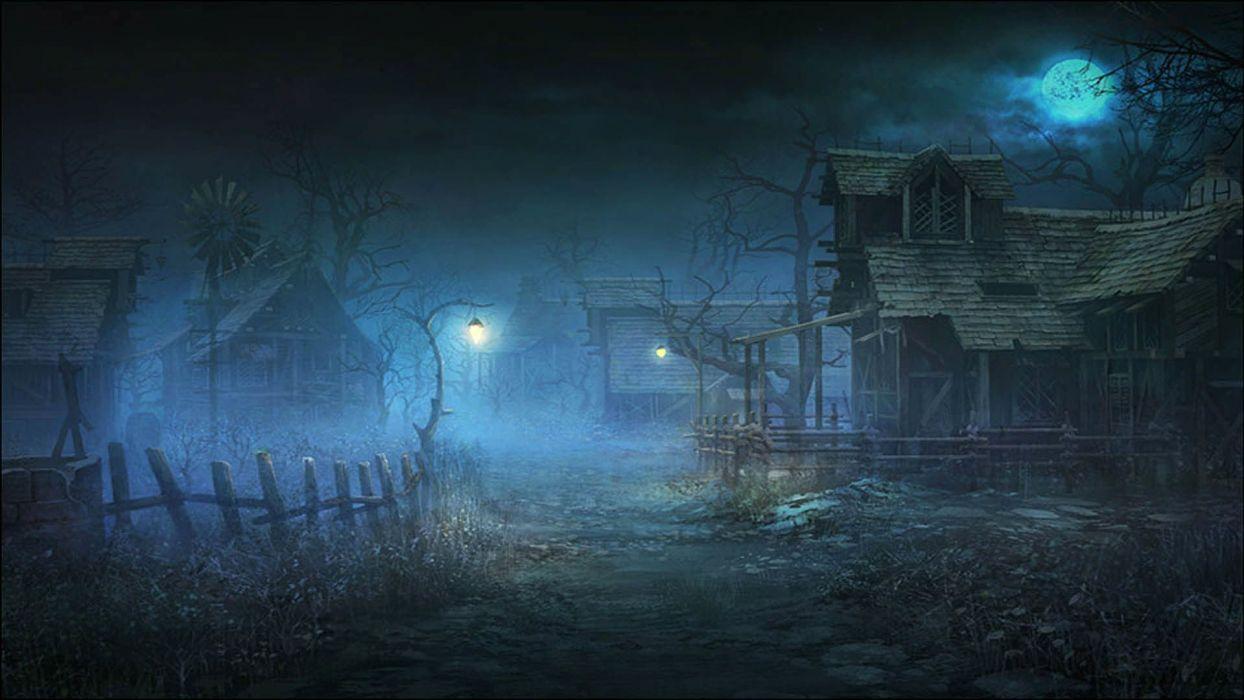 ARCANE CHRONICLES fantasy mmo rpg fighting action medieval dark 1arcc hearts spooky creepy halloween wallpaper