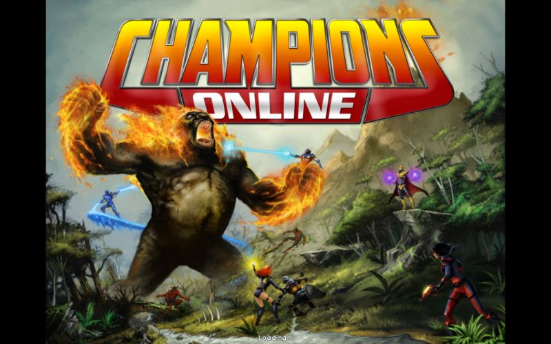CHAMPIONS ONLINE superhero mmo rpg fantasy action fighting microsoft xbox 1champo hero heroes sci-fi warrior arena poster gorilla wallpaper