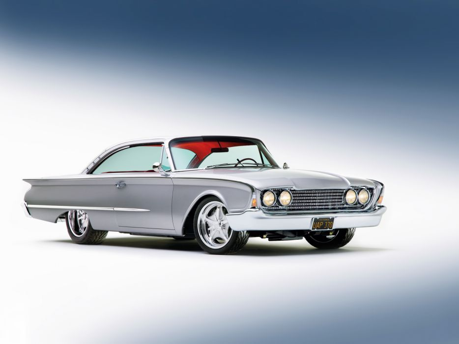 1960 Ford Starliner Coupe Streetrod Street Rod Hot d 5907x4430-01 wallpaper