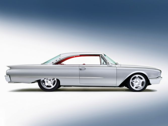 1960 Ford Starliner Coupe Streetrod Street Rod Hot d 5907x4430-02 wallpaper