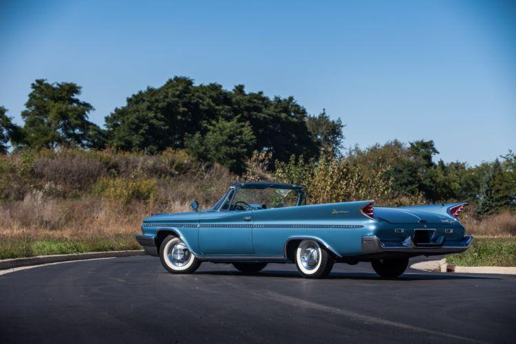 1960 Desoto Adventure Convertible Classic USA d 5616x3744-04 wallpaper