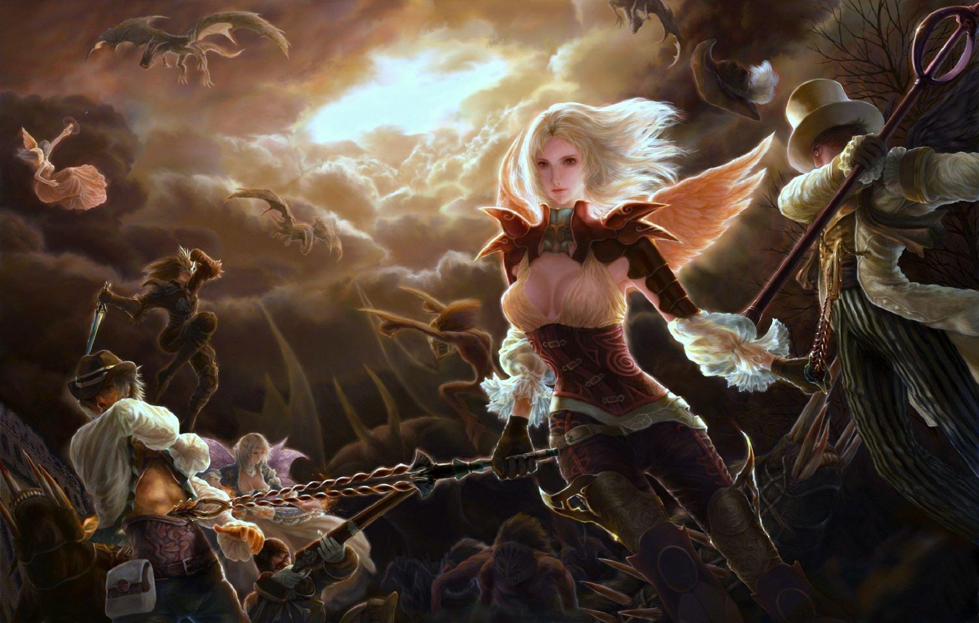 Девушка ангел демон 4
