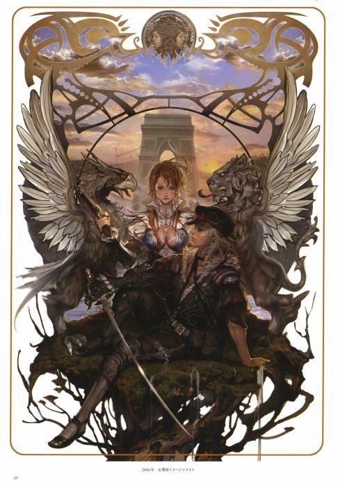 GRANADO ESPADA Sword New World fantasy mmo rpg exploration adventure action fighting 1snw online medieval historical anime wallpaper