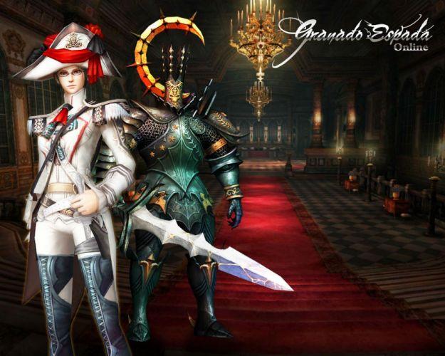 GRANADO ESPADA Sword New World fantasy mmo rpg exploration adventure action fighting 1snw online medieval historical anime poster wallpaper