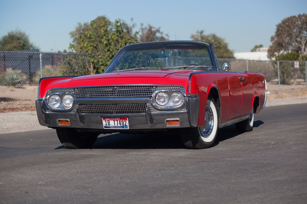 1961 Lincoln Continental Convertible Classic USA d 5616x3744-01 wallpaper