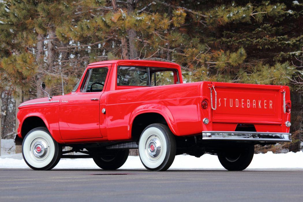 1961 Studebaker Champion Pickup Classic USA d 5184x3456-03 wallpaper