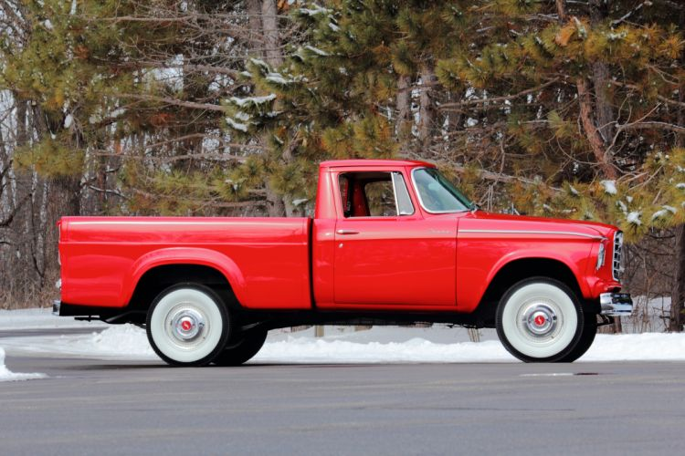 1961 Studebaker Champion Pickup Classic USA d 5184x3456-02 wallpaper
