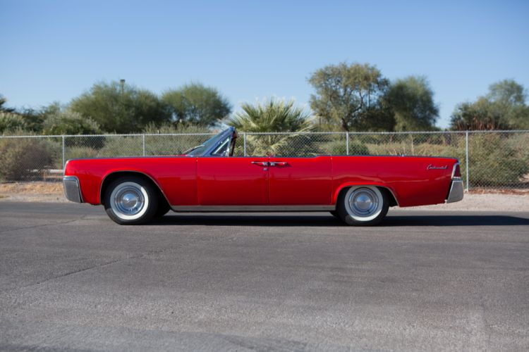 1961 Lincoln Continental Convertible Classic USA d 5760x3840-04 wallpaper