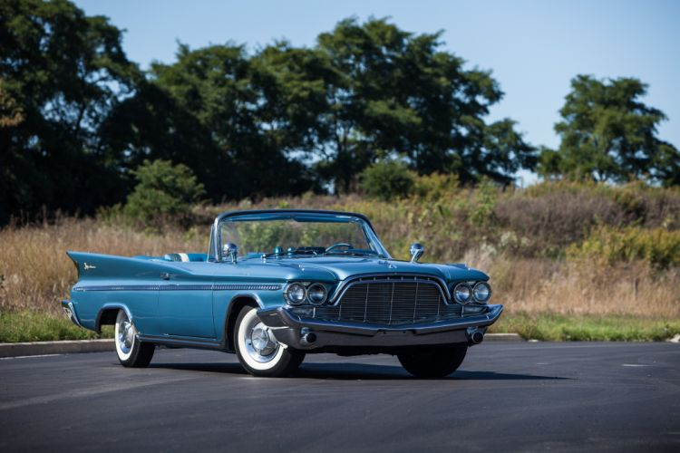1960 Desoto Adventure Convertible Classic USA d 5616x3744-02 wallpaper