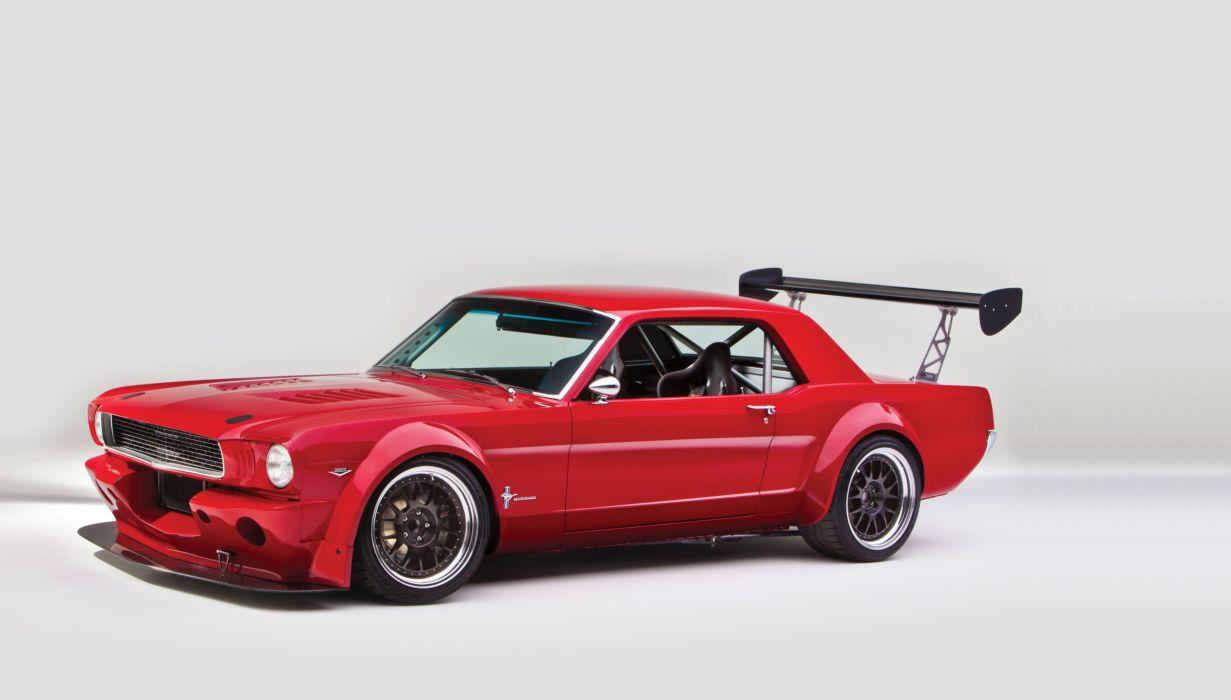 1966 Ford Mustang Muscle Streetrod Street Rod Race Drift USA d 7200x4096-02 wallpaper