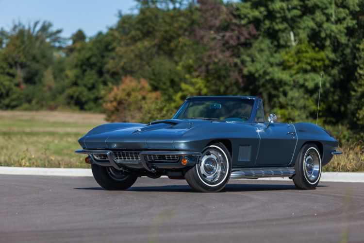 1967 Chevrolet Corvette Stingray Convertible Muscle Classic USA d 5184x3456-04 wallpaper