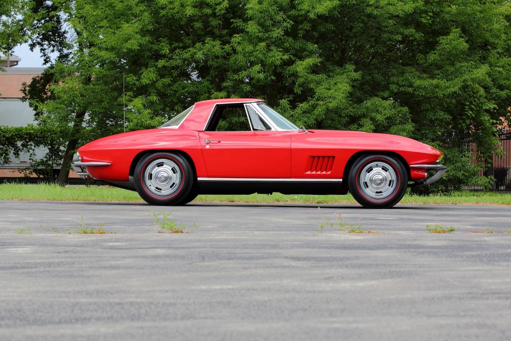 1967 Chevrolet Corvette Convertible Stingray Muscle Classic USA d 5184x3456-02 wallpaper