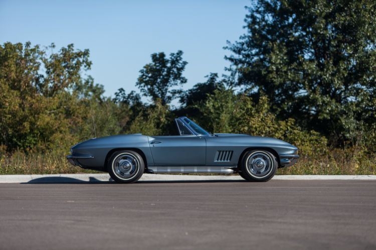 1967 Chevrolet Corvette Stingray Convertible Muscle Classic USA d 5184x3456-06 wallpaper