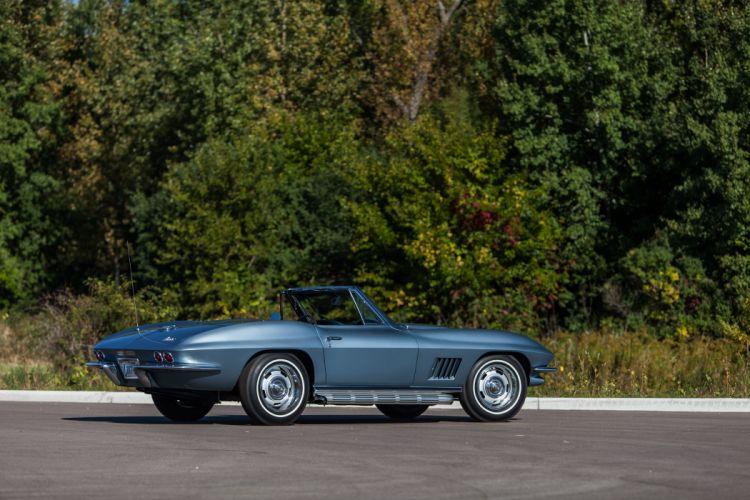 1967 Chevrolet Corvette Stingray Convertible Muscle Classic USA d 5184x3456-08 wallpaper