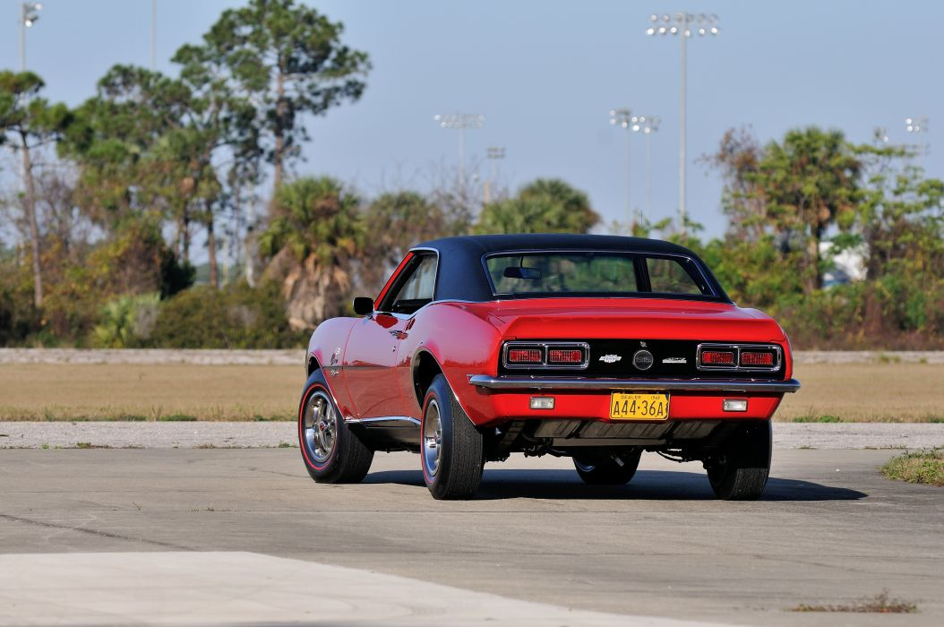 1968 Chevrolet Camaro Yenko RS SS Muscle Classic d 4288x2848-06 wallpaper