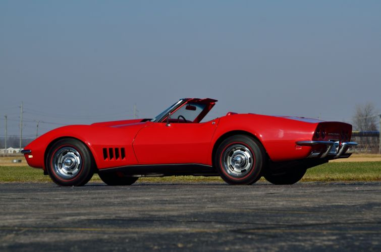 1968 Chevrolet Corvette Stingray Convertible Muscle Classic USA d 4928x3264-06 wallpaper