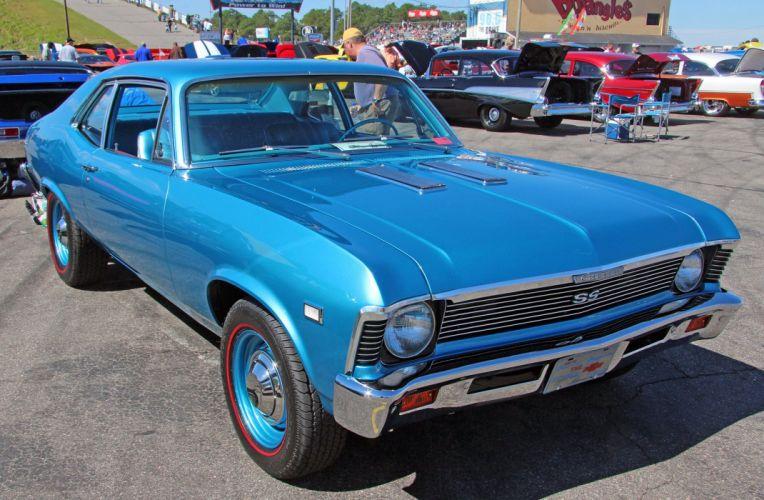 1968 Chevrolet Nova Muscle Classic USA d 2048x1340-02 wallpaper