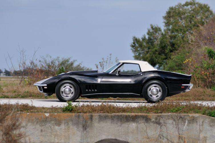 1968 Chevrolet Corvette Stingray L88 Convertible Muscle Classic USA d 4288x2848-04 wallpaper