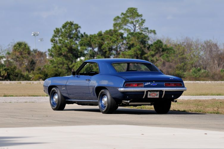 1969 Chevrolet Camaro ZL1 Muscle Classic USA d 4200x2800-08 wallpaper