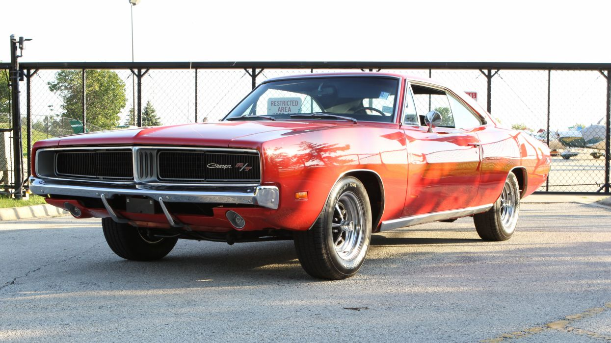 1969 Dodge Charger RT Muscle Classic USA d 5184x2916-01 wallpaper