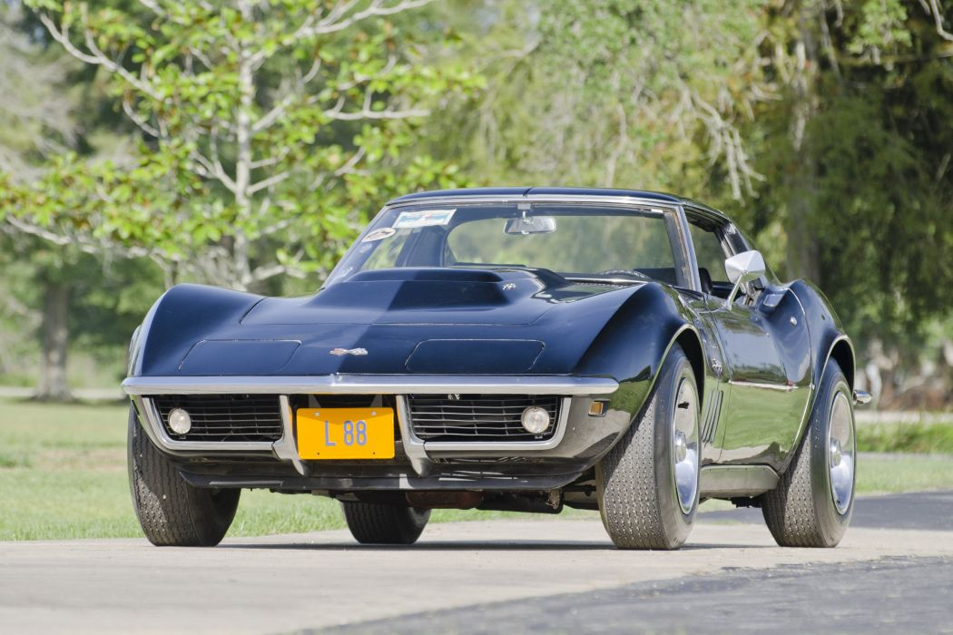 1969 Chevrolet Corevette L88 Stingray Muscle Classic USA d 4800x3200-06 wallpaper