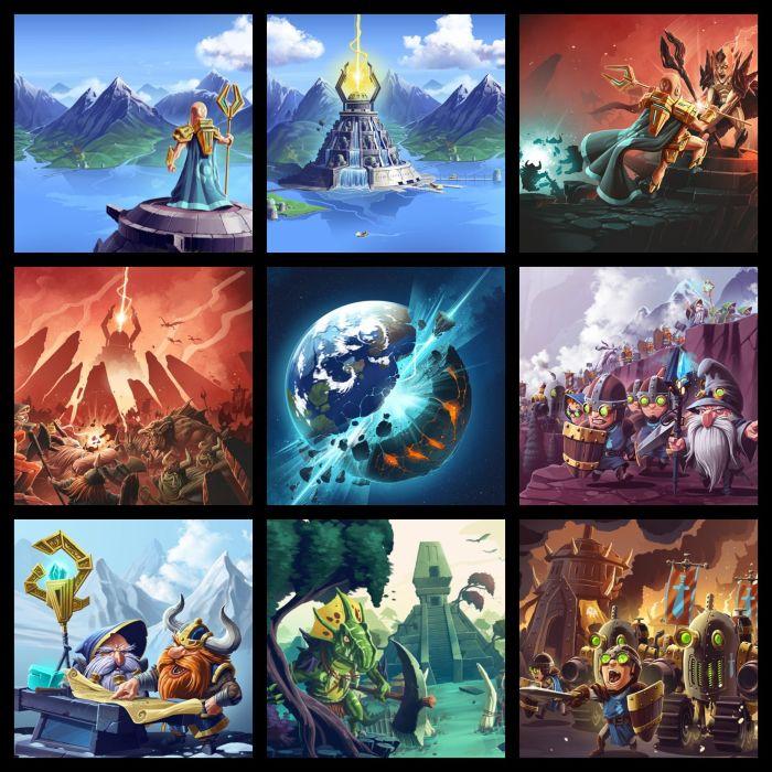 KINGDOM Of AELGARD fantasy action fighting adventure quest 1koa magic strategy rts warrior poster wallpaper
