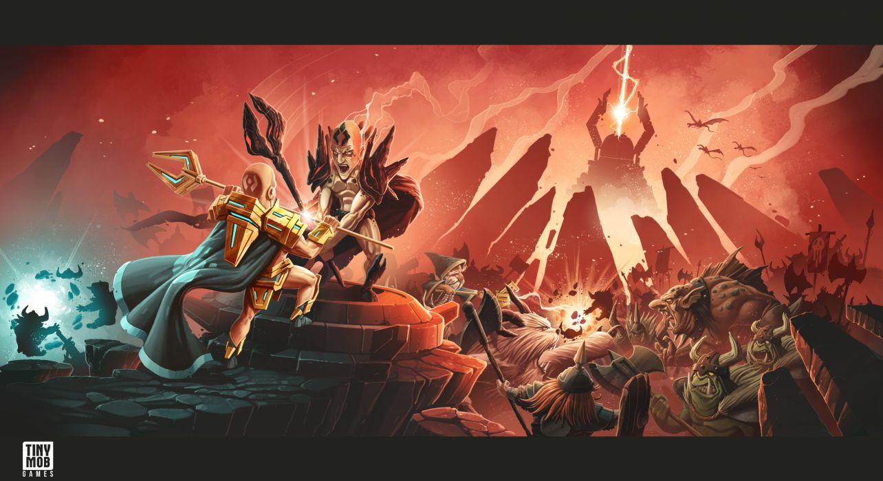 KINGDOM Of AELGARD fantasy action fighting adventure quest 1koa magic strategy rts warrior battle wallpaper
