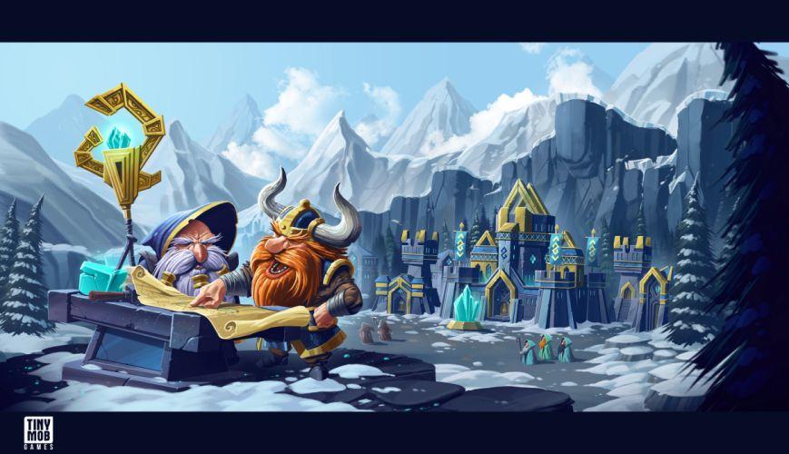 KINGDOM Of AELGARD fantasy action fighting adventure quest 1koa magic strategy rts warrior wallpaper