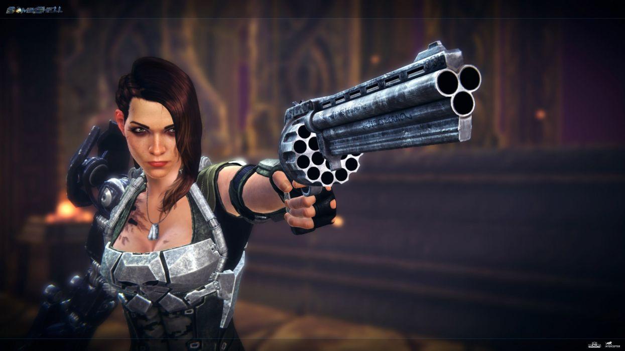 BOMBSHELL Action Rpg Shooter Duke Nukem 1bshell Fighting Sci Fi Warrior Wallpaper