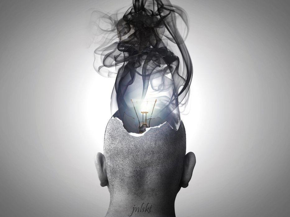 ART - explosions idea brain wallpaper