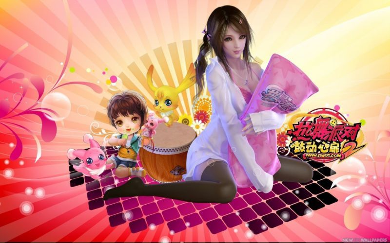 HOT DANCE PARTY 2 Online Steps Evolution 1hdp rhythm dancing sexy babe Revolution action girls girl music steps wallpaper