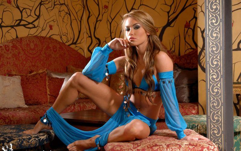 SENSUALITY - Veronika Fasterova girl blonde odalisque wallpaper