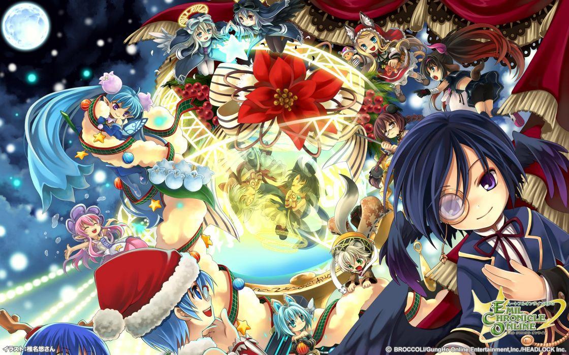 Emil Chronicle Online Mmo Rpg Fantasy Eco Adventure Anime Manga Wallpaper