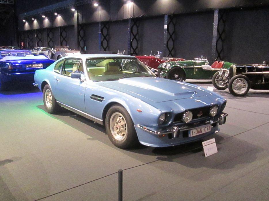 Aston Martin V8 Saloon Oscar India wallpaper