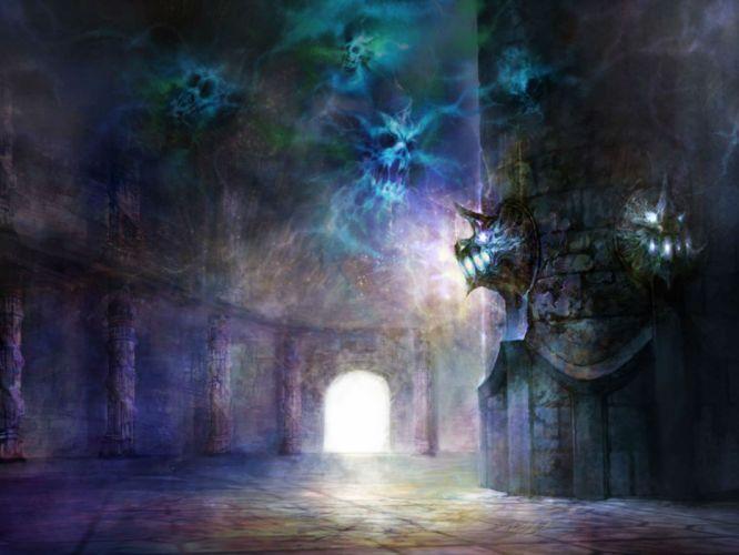 DEKARON ONLINE fantasy mmo rpg middle ages medieval 1dekao action fighting 2moons dark skull evil wallpaper