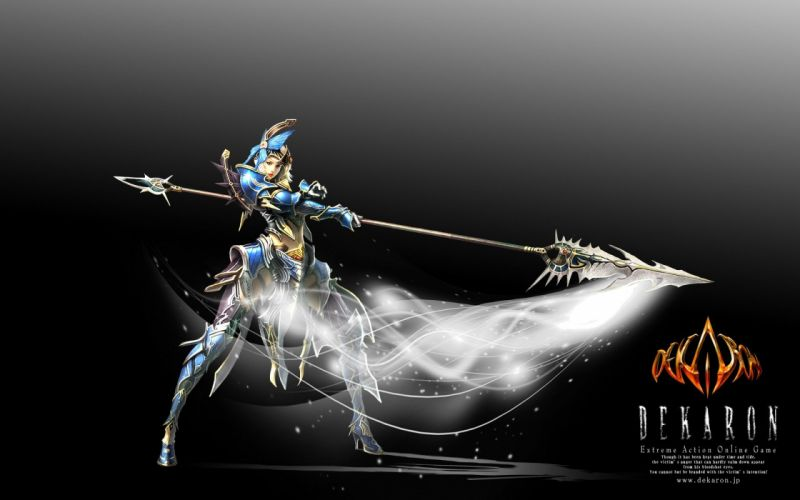 DEKARON ONLINE fantasy mmo rpg middle ages medieval 1dekao action fighting 2moons warrior wallpaper