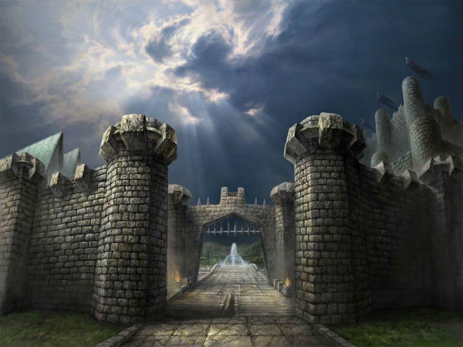 DEKARON ONLINE fantasy mmo rpg middle ages medieval 1dekao action fighting 2moons castle wallpaper