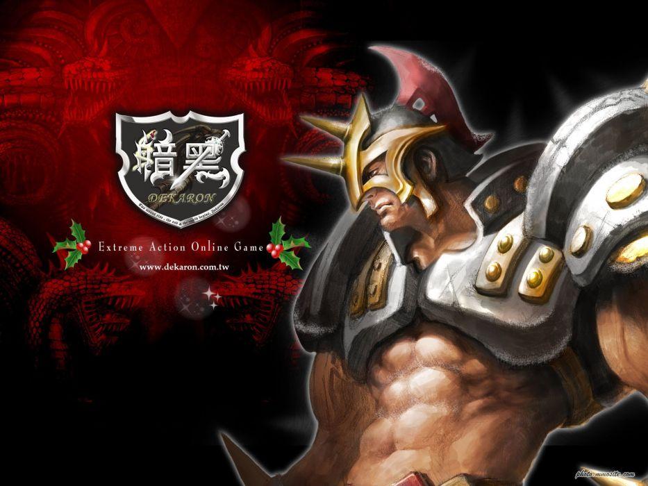 DEKARON ONLINE fantasy mmo rpg middle ages medieval 1dekao action fighting 2moons warrior poster wallpaper
