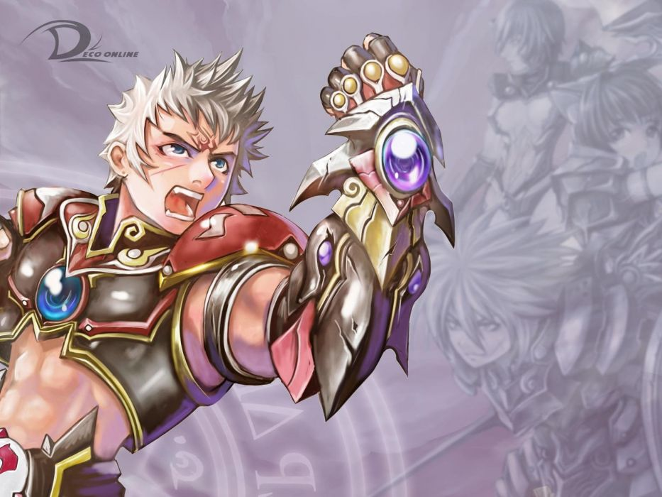 DECO ONLINE anime mmo rpg fantasy fighting action adventure 1decoo warrior wallpaper