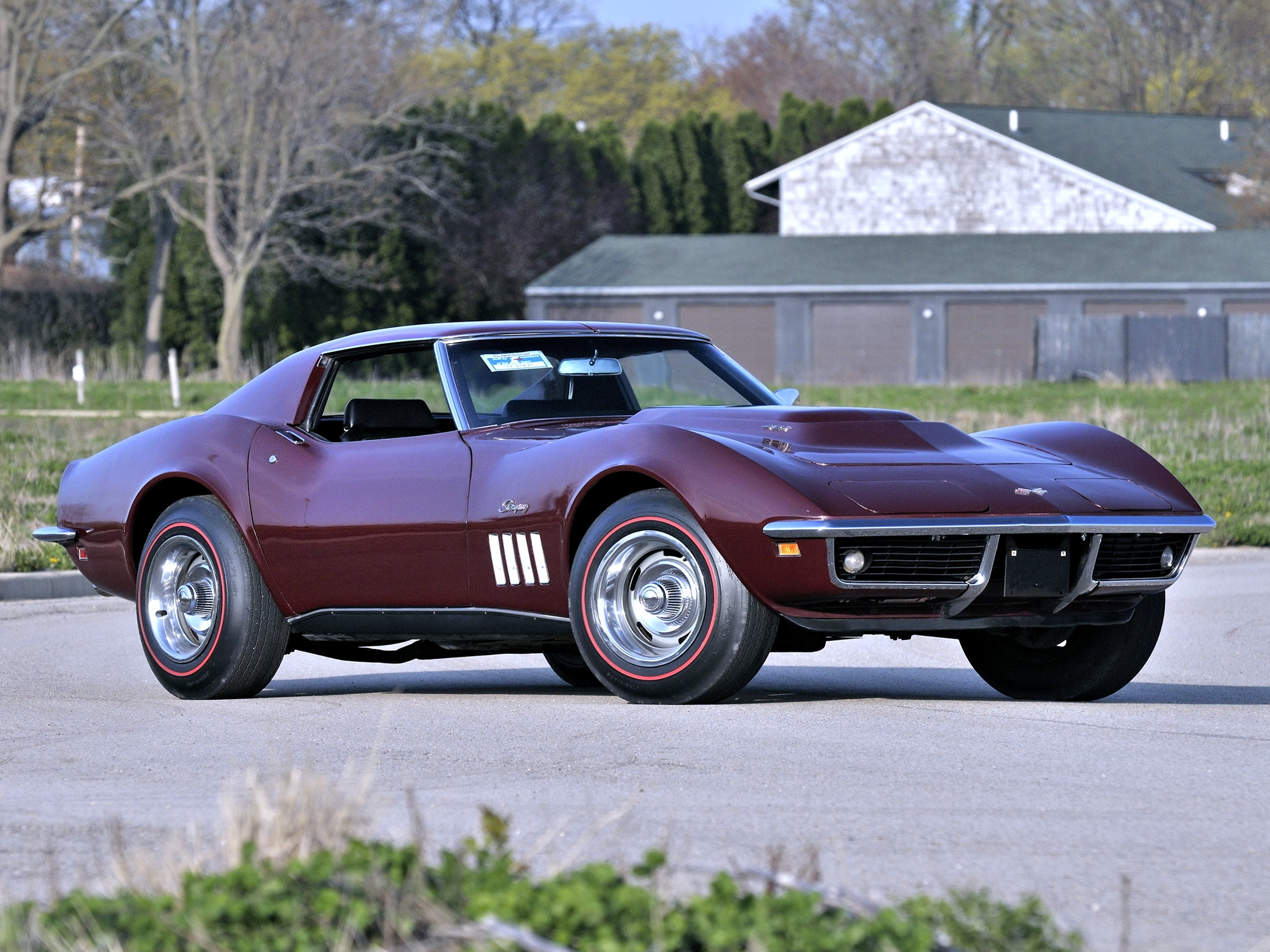 Chevrolet Stingray 1969 Old Classic Brown Speed Motors